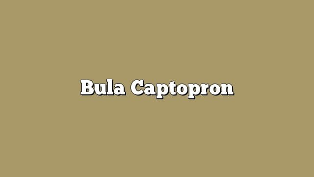 Bula Captopron