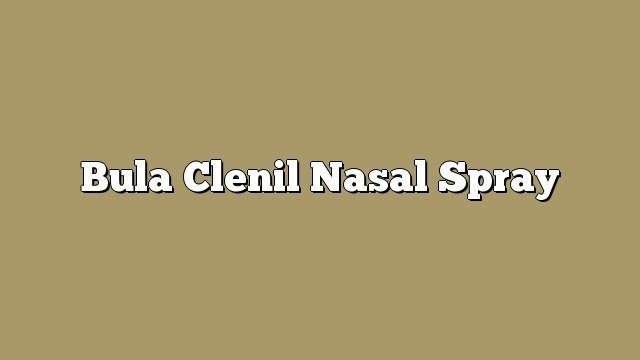 Bula Clenil Nasal Spray