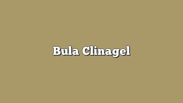 Bula Clinagel
