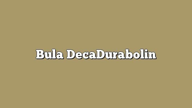 Bula DecaDurabolin