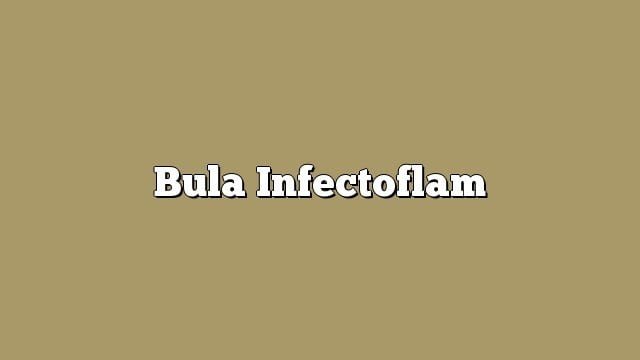 Bula Infectoflam