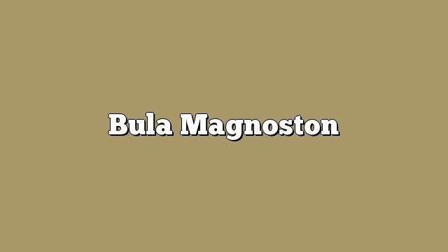 Bula Magnoston