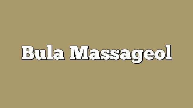 Bula Massageol