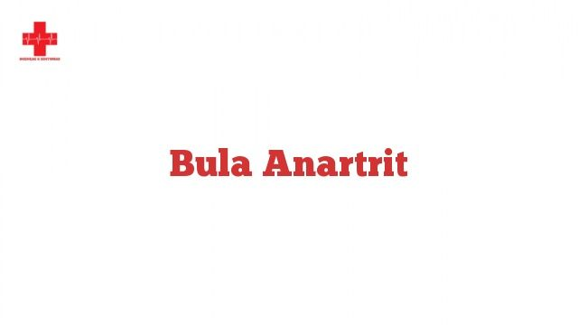 Bula Anartrit