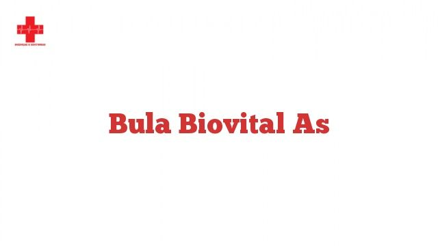 Bula Biovital as