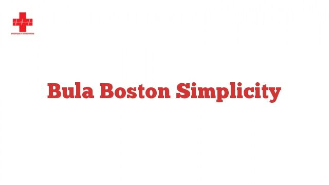 Bula Boston Simplicity