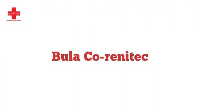 Bula Co-renitec