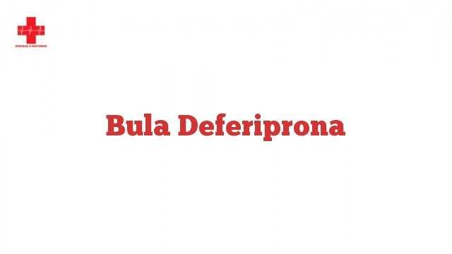 Bula Deferiprona