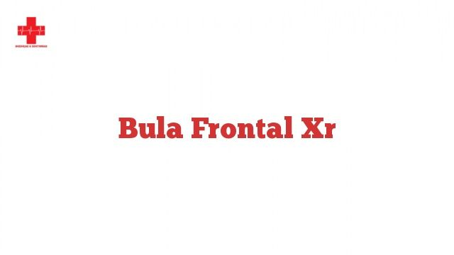 Bula Frontal xr